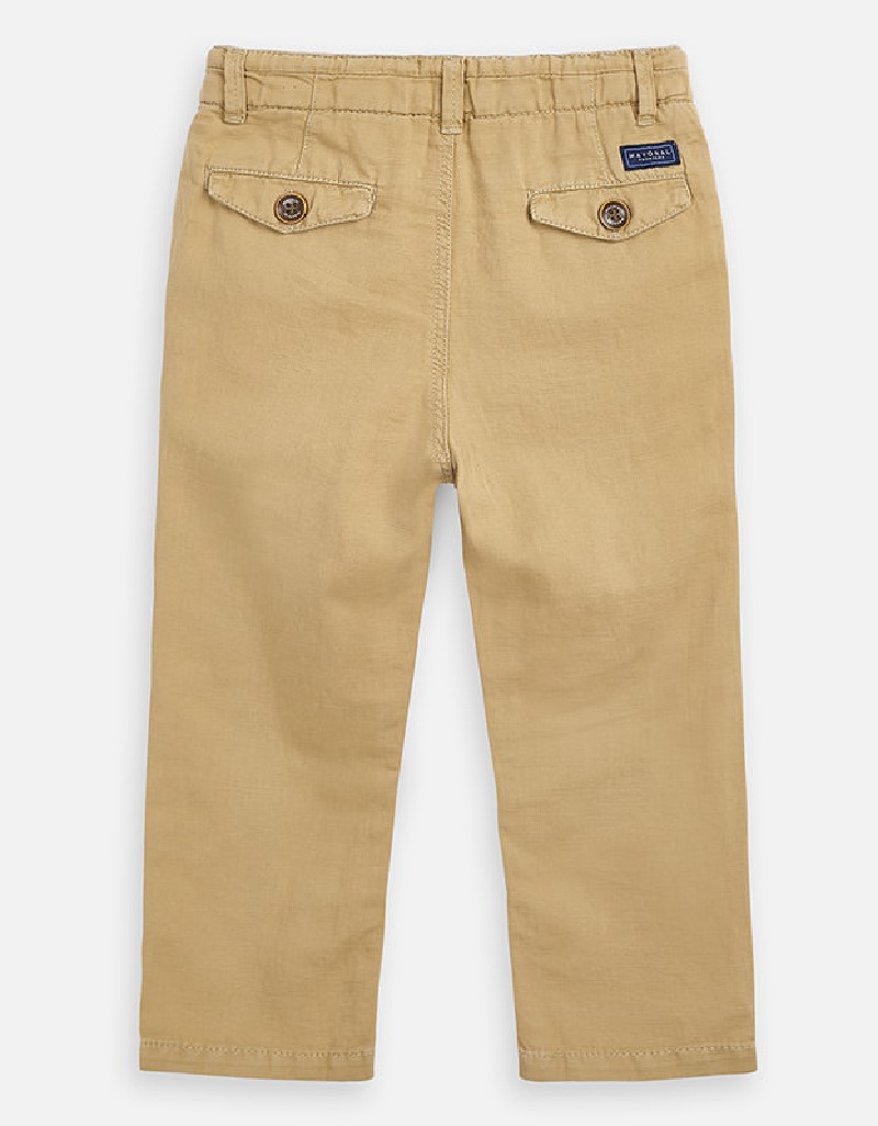 Beech Linen long trousers