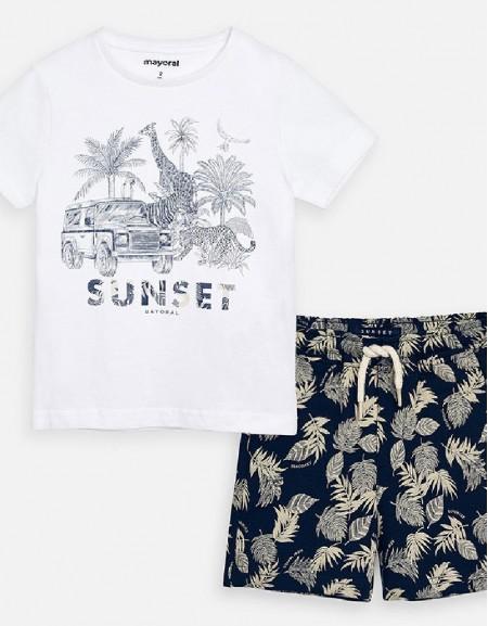 White Knit set
