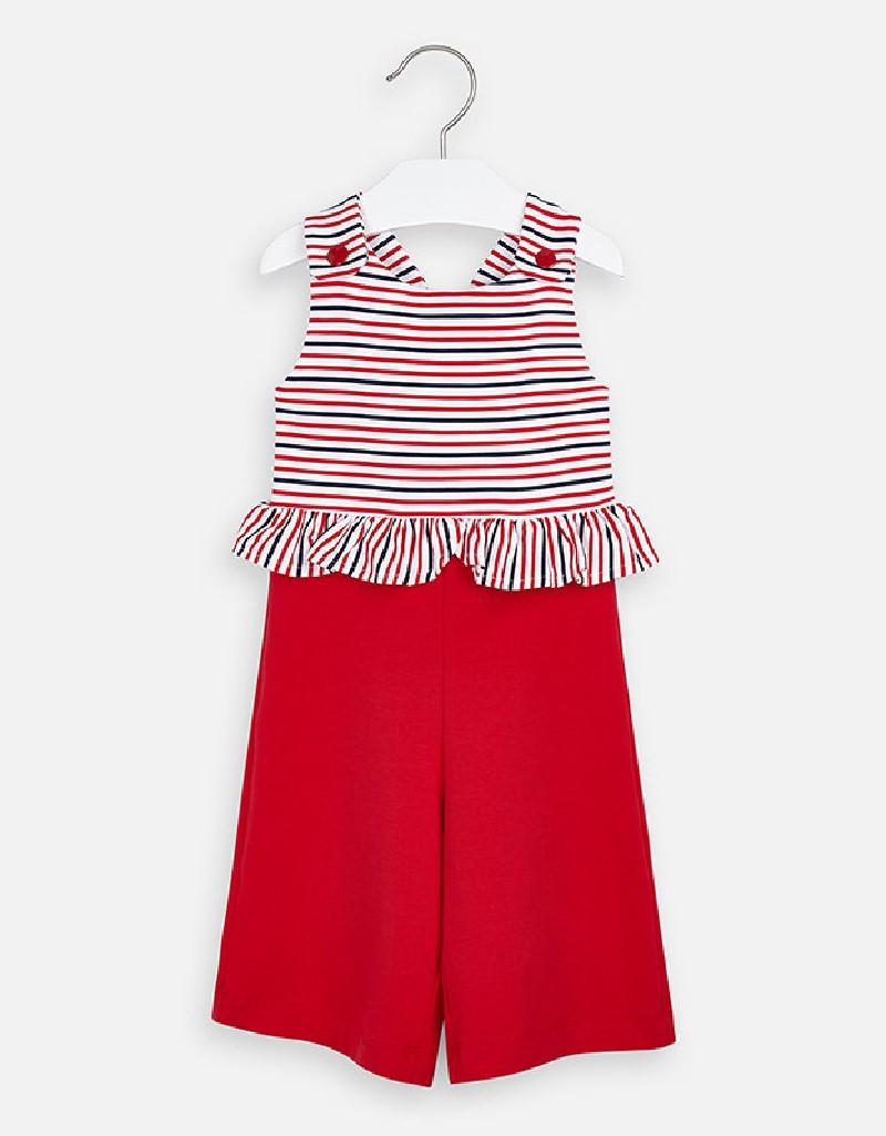 Red Stripes jumpsuit