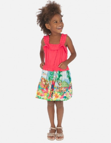 Watermelon Tropical skirt