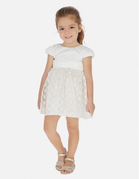 Natural Organza dress