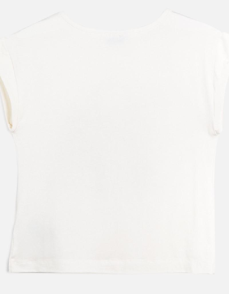 Raw Pink S/s printed t-shirt