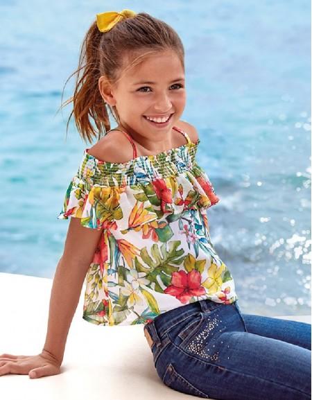 Persimmon Ruffled blouse