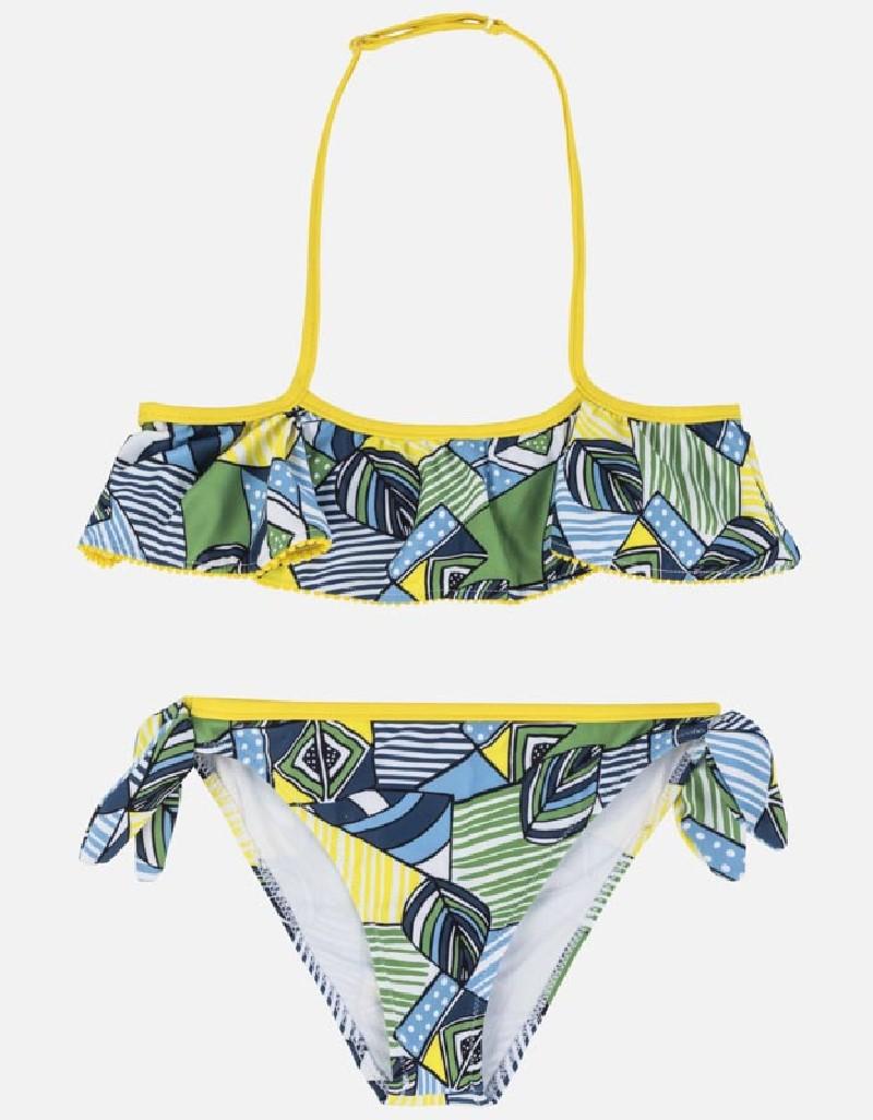 Indigo Ruffle bikini
