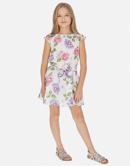 Hollyhock Gauze printed dress