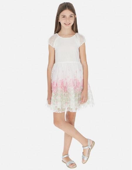 Pink Plumeti flowers dress