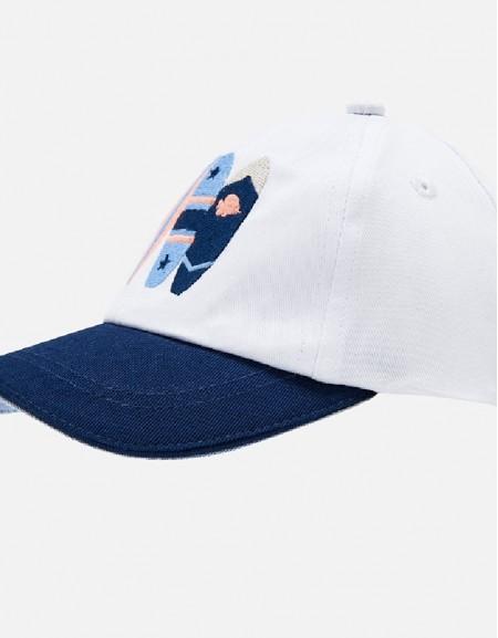 White Surf hat