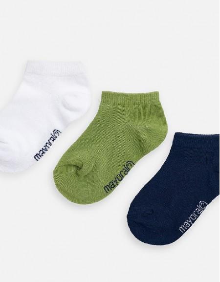 Jungle 3-pc short socks set