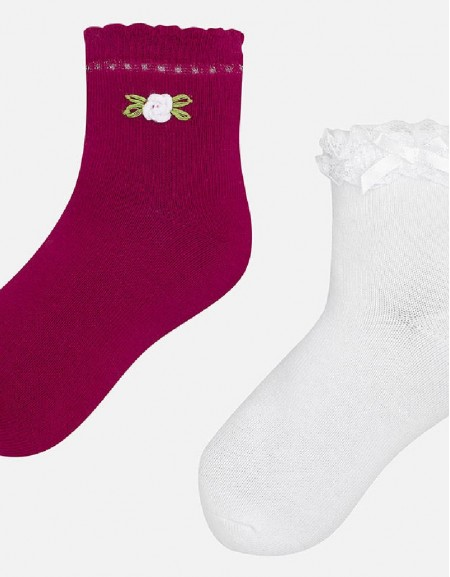 Strawberry 2 socks set