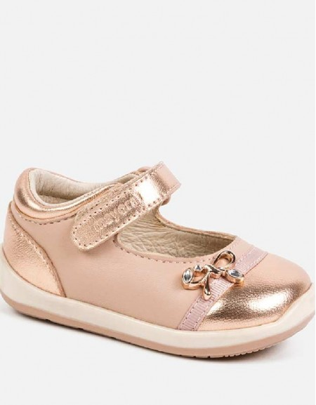 Copper Glossy mary janes