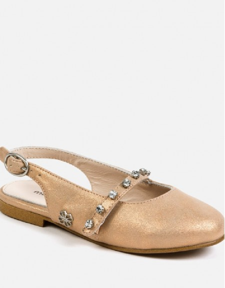 Copper Mary jane shoes