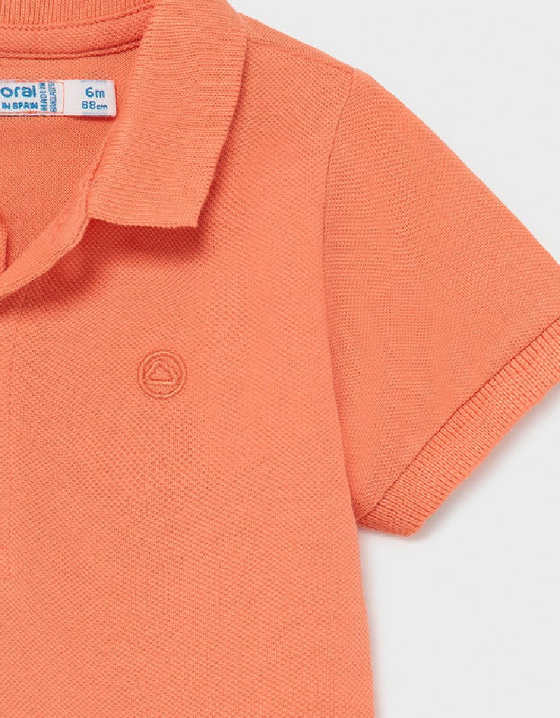 Apricot Basic Short Sleeved Polo Shirt