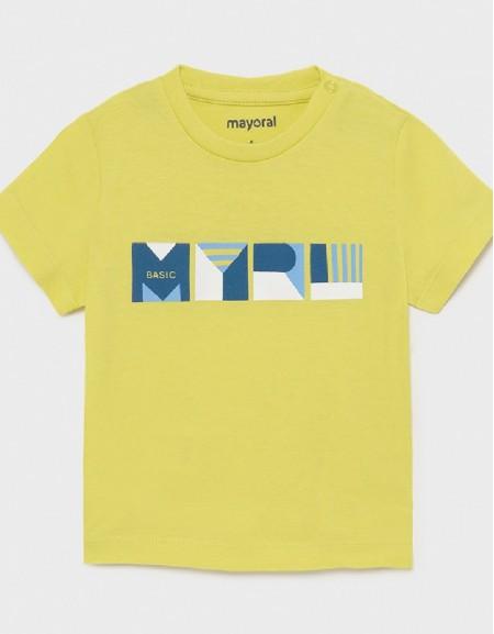 Lime Shortsleeved Basic T-Shirt