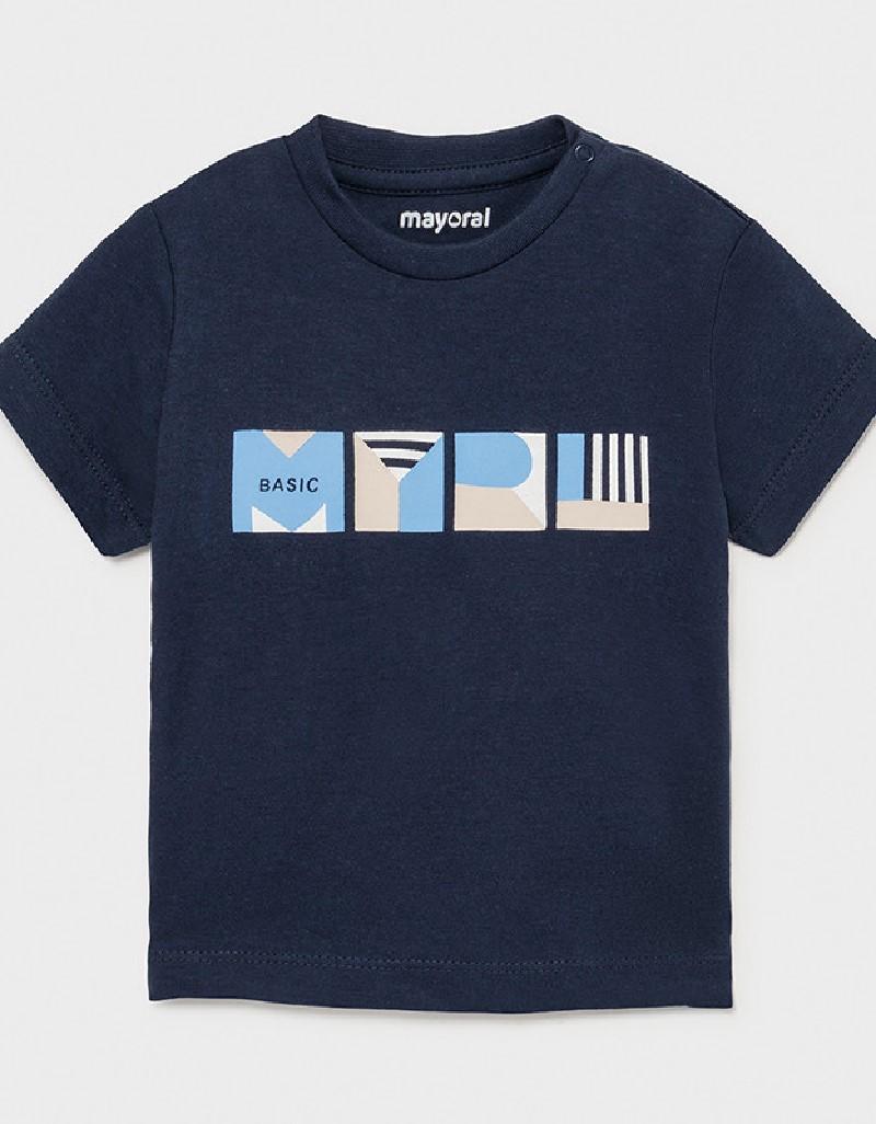 Nautical Shortsleeved Basic T-Shirt