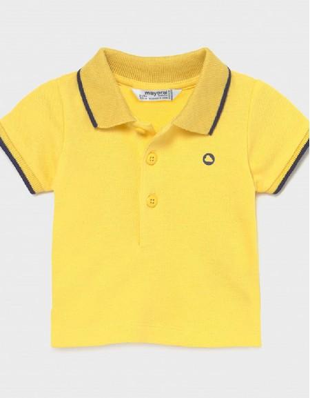 Sun Short Sleeved Basic Polo Shirt