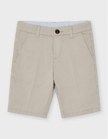 Sand Basic Twill Chino Shorts