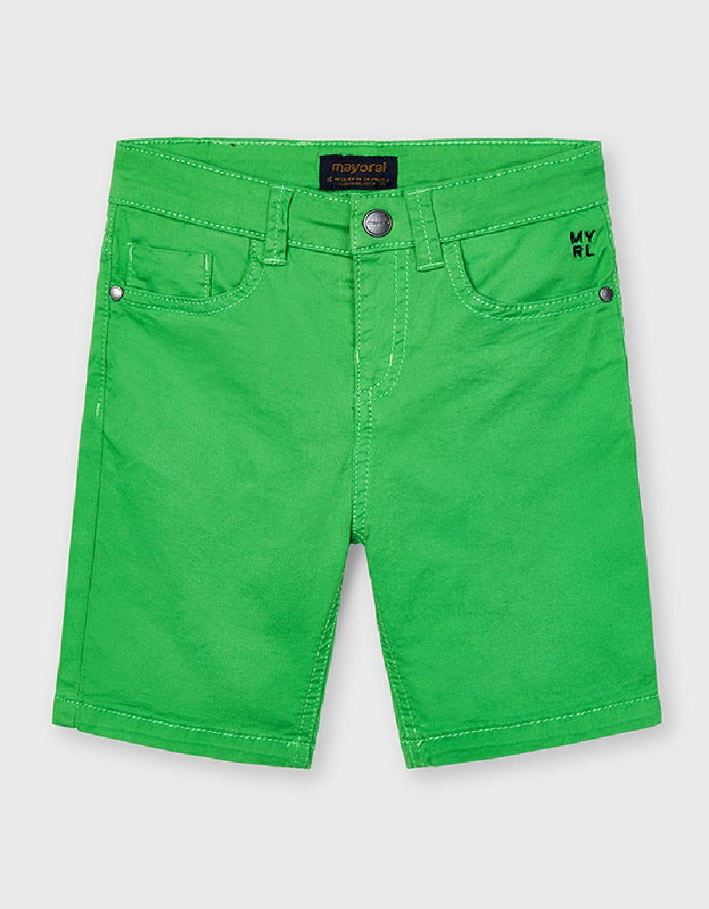 Matcha Basic 5 Pockets Twill Shorts