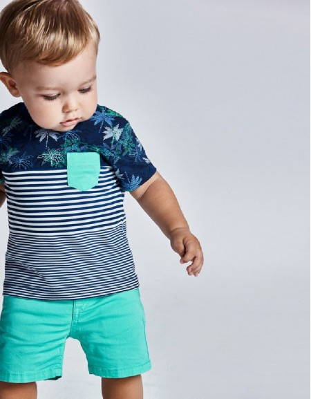 Aqua Basic 5 Pockets Twill Shorts