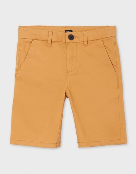 Caramel Basic Chino Shorts