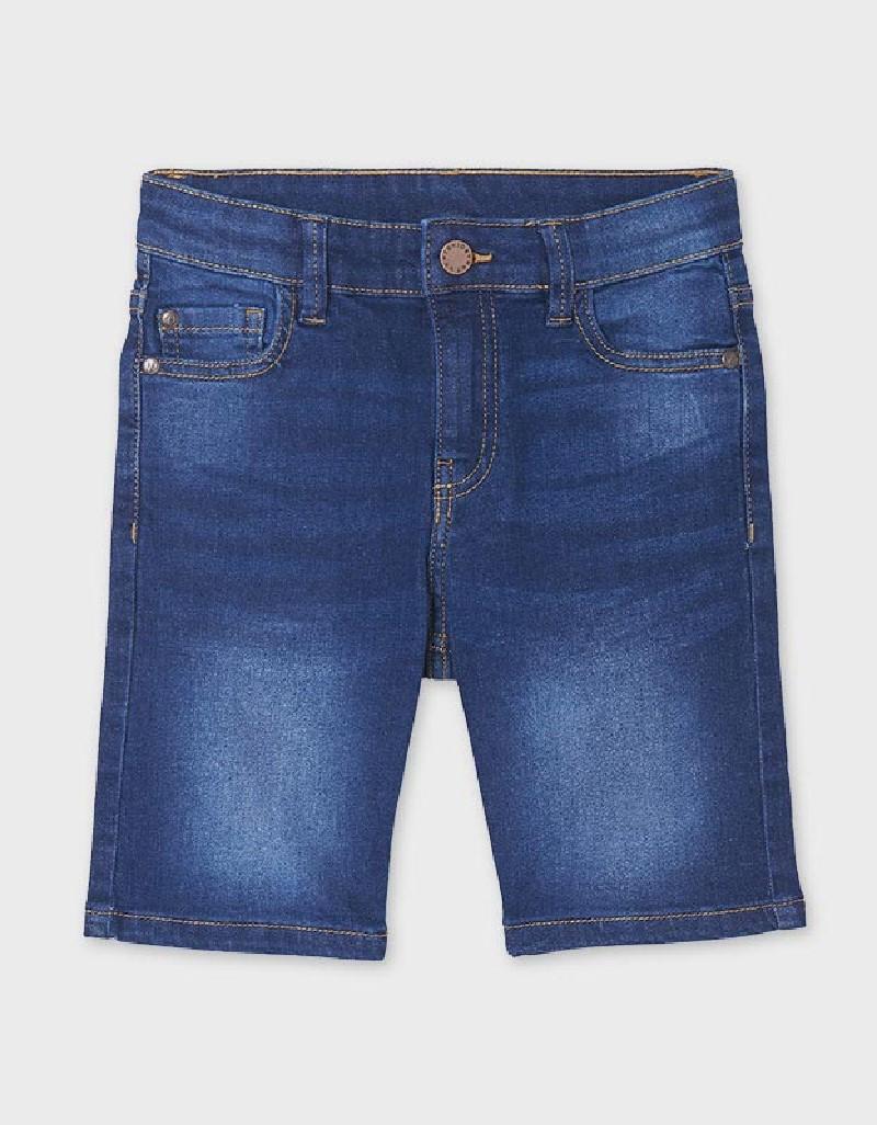 Dark Basic Denim Shorts