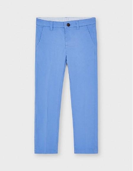 Sky Twill Basic Trousers