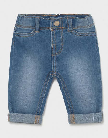 Light Basic Jean Trousers