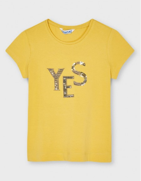 Mustard Ecofriends Basic T-Shirt