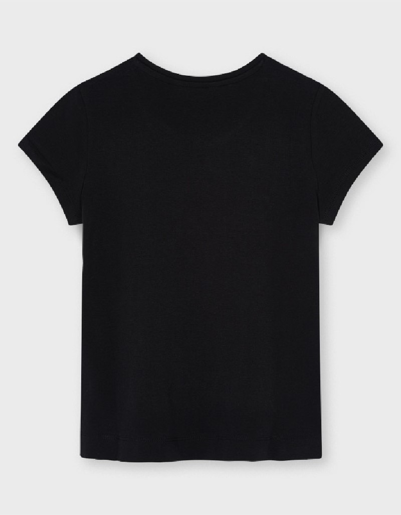 Black Ecofriends Basic T-Shirt