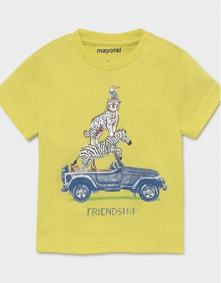 Lime S/S T-Shirt Friendship