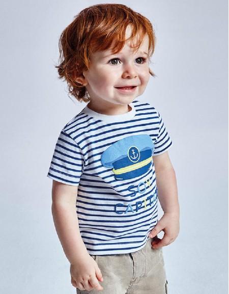 Overseas Stripes S/S T-Shirt