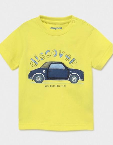 Lime S/S T-Shirt Play Car