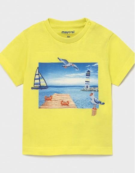 Lime Ecofriends Short Sleeved T-Shirt