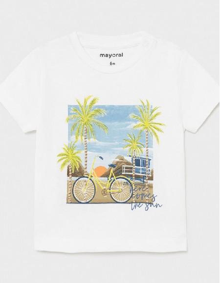 White Ecofriends Cotton T-Shirt