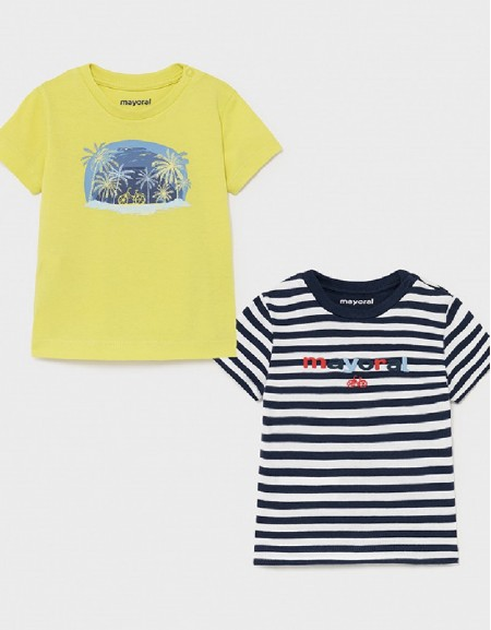 Lime Set Of 2 T-Shirts