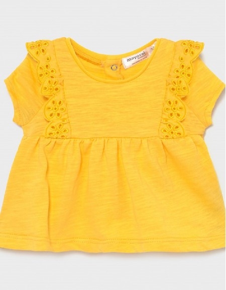Yellow Short Sleeved T-Shirt