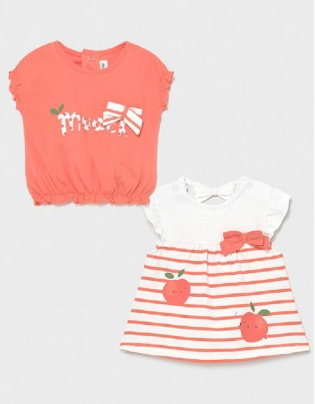 Sorbet Set Of 2 Short Sleeved T-Shirts