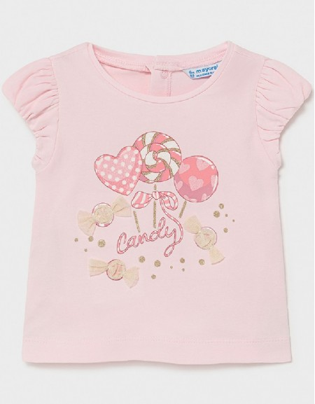 Rose S/S Printed Tshirt