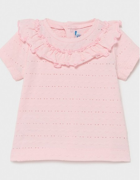 Rose Ruffle T-Shirt