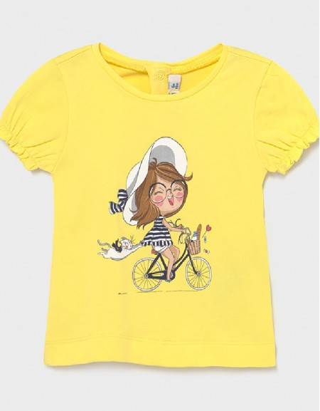 Yellow Ecofriends T-Shirt