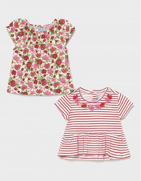 Poppy Set Kurzarm Shirt 2-Teilig Ecofriends