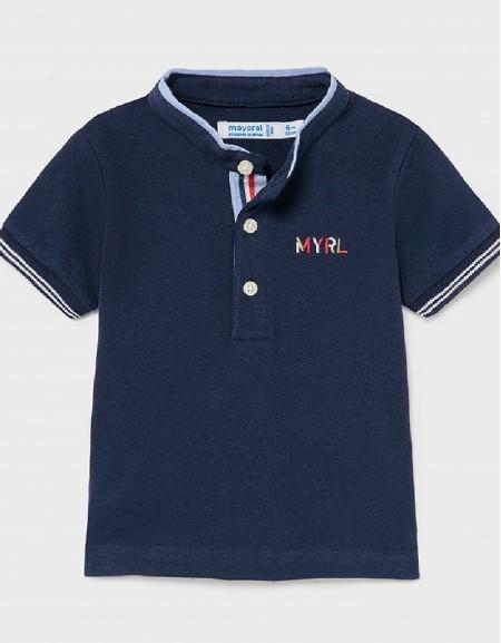 Nautical Grandad Collar Polo