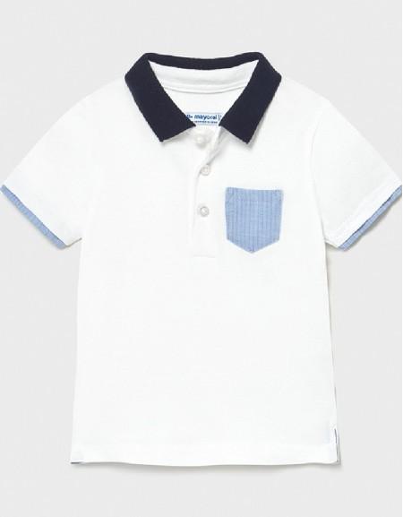 White S/S Polo Dress
