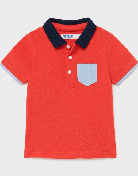 Cyber Red S/S Polo Dress