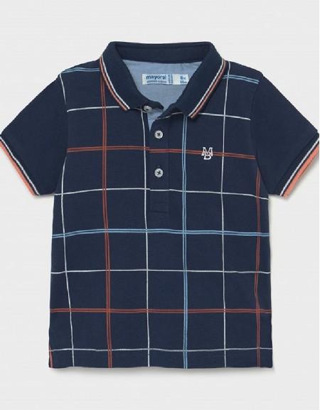 Blue Check Polo
