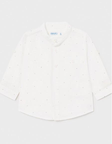 White Linen Shirt For