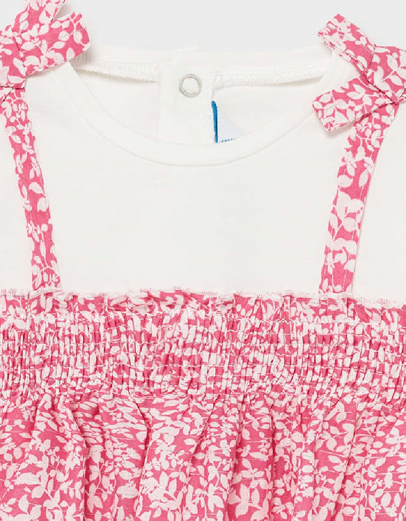 Camellia Combined Knit Blouse