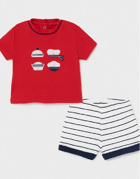 Tomato T-Shirt And Shorts Set
