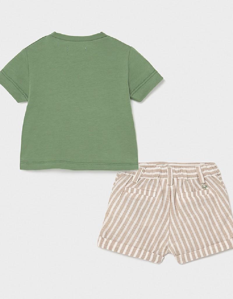 Bamboo Shorts And T-Shirt Set