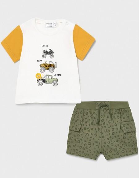 Banana Shorts And T-Shirt Set