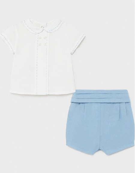Blue Short Set